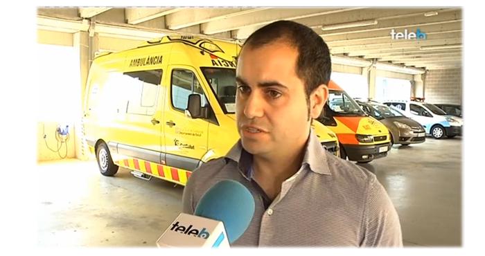 Jordi Alonso, Director financer de La Pau, a Televisió de Badalona