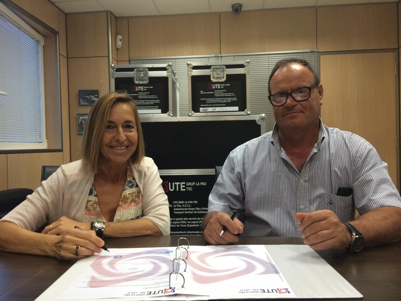 La Pau es presenta a dos lots del concurs de transport sanitari del CatSalut i el SEM