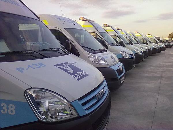 Grup La Pau renova el lot G al concurs de transport sanitari