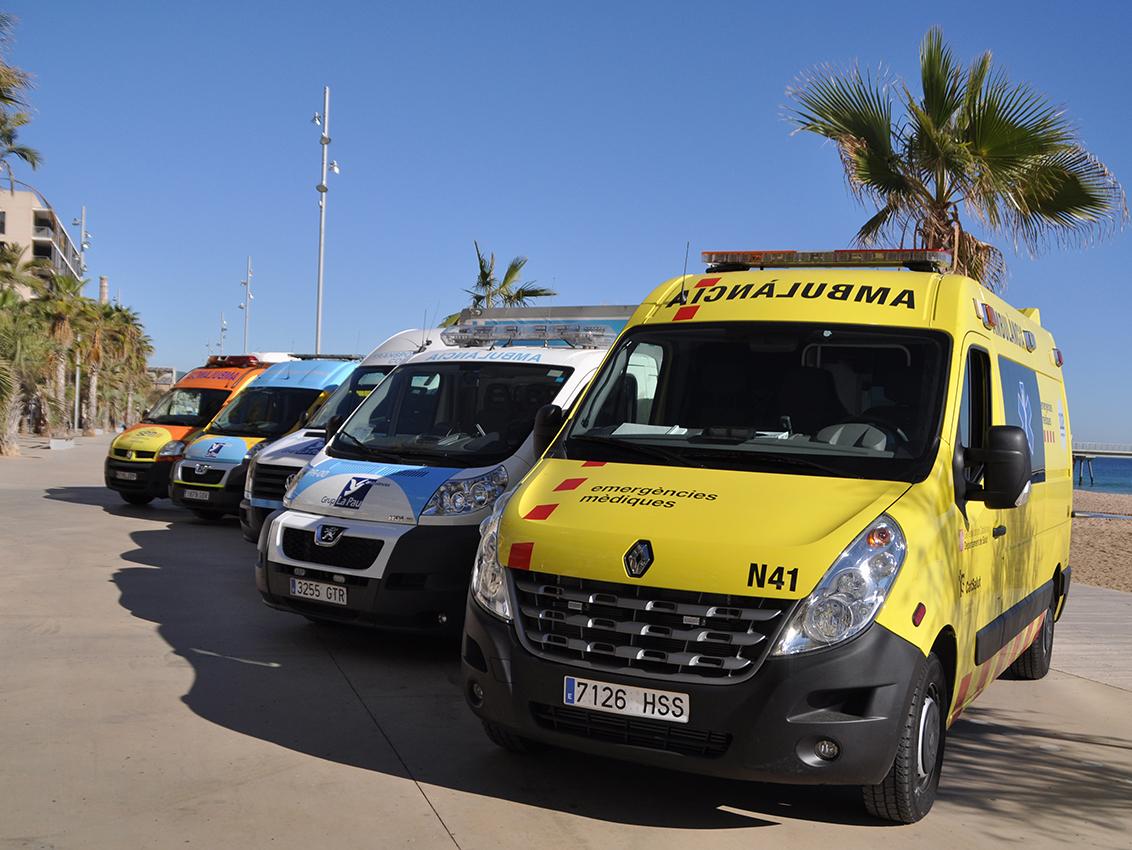 Grup La Pau s'adjudica cinc lots del concurs de transport sanitari FREMAP i comença a operar al Vallès Occidental