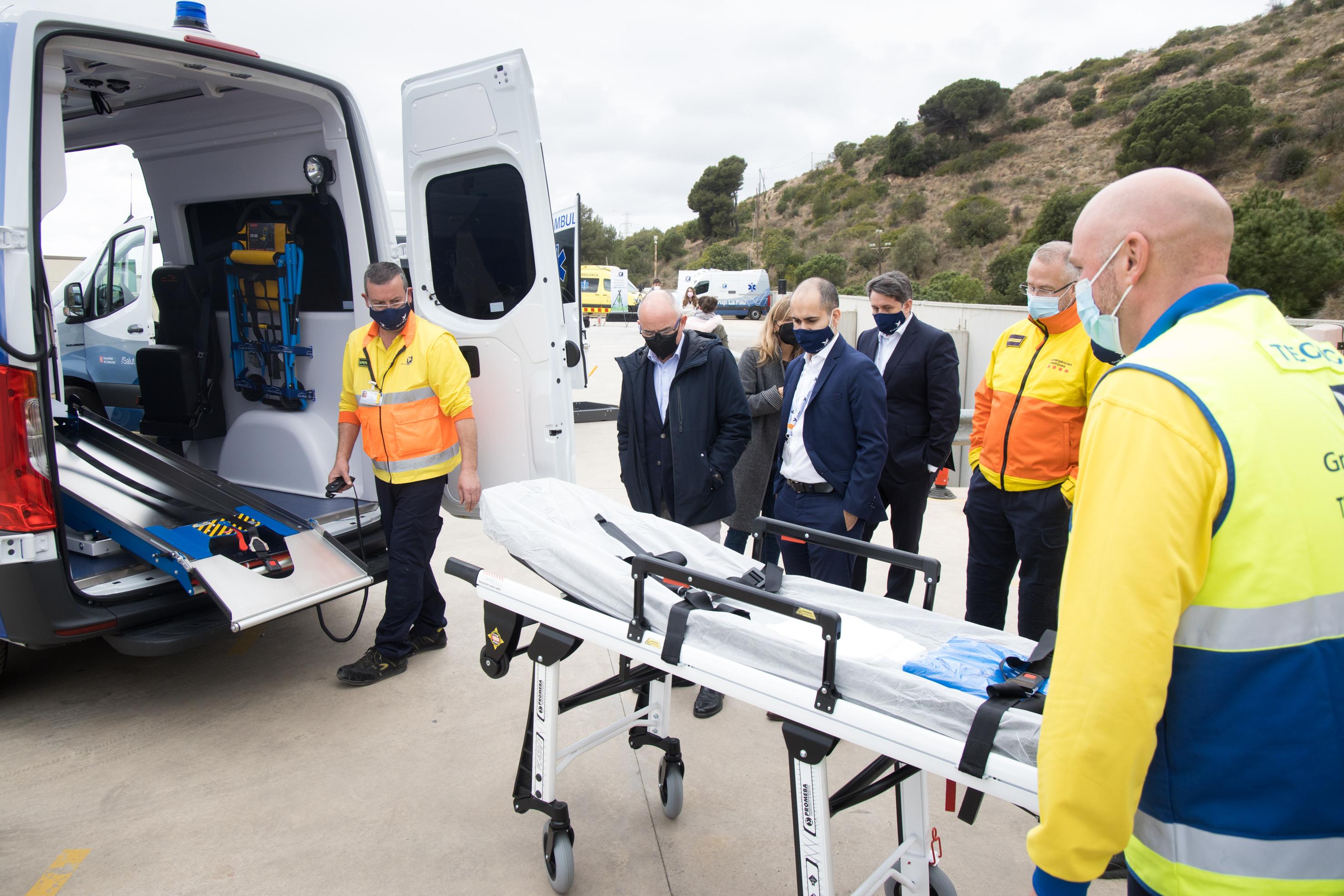 ambulancia eléctrica