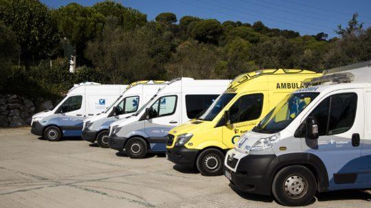 ambulancies transport urgent