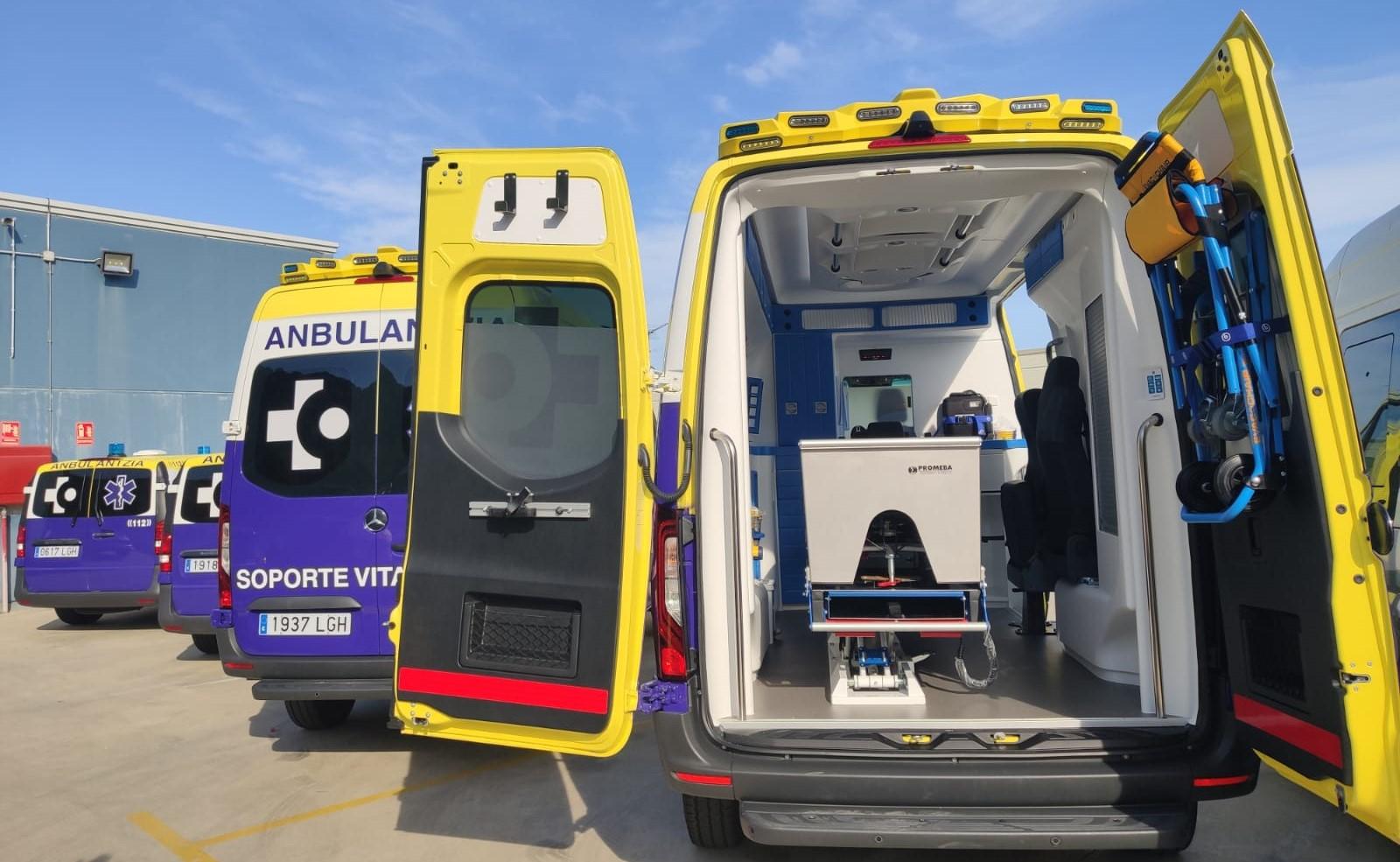 serveis en una ambulancia