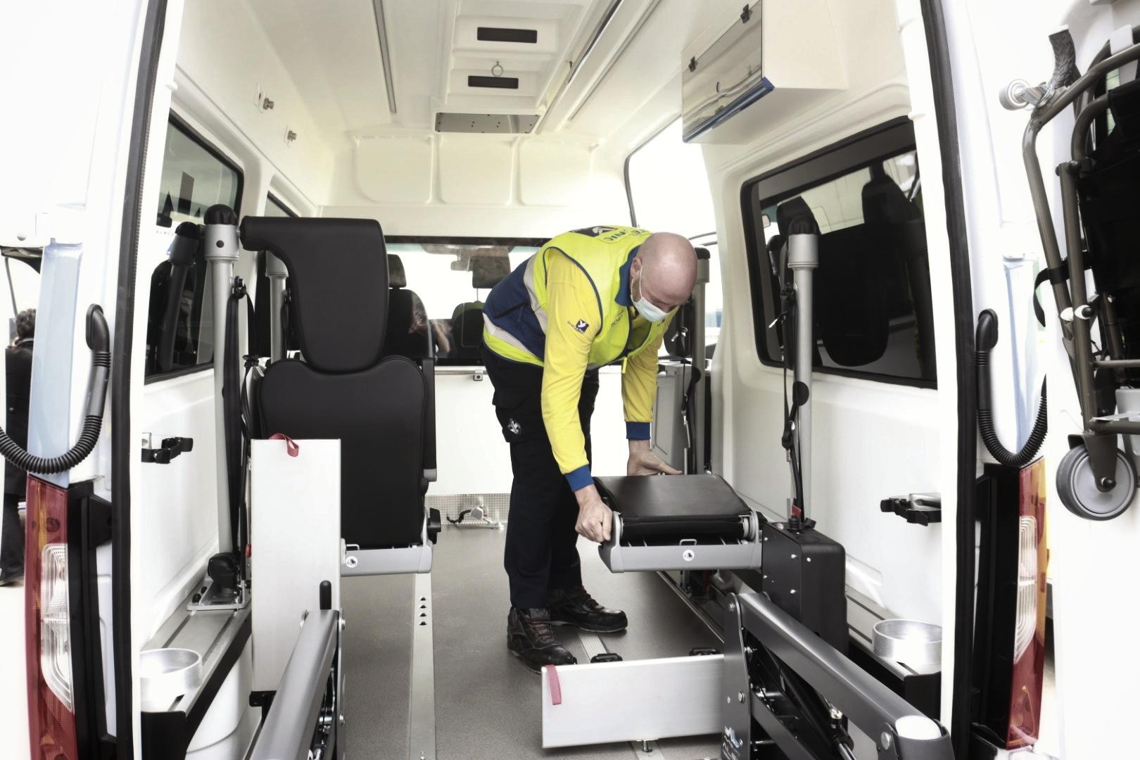 xofer d'ambulancia